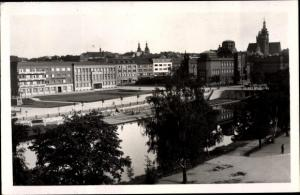 Ak Hradec Králové Königgrätz Stadt, Nabrezi