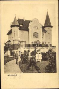 Ak Hamburg Wandsbek Rahlstedt, Altrahlstedt, Villa
