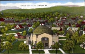 Judaika Ak Altoona Pennsylvania USA, Temple Beth Israel, Columbia Park