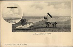 Ak Aviation, Le Monoplan Caudron Freres