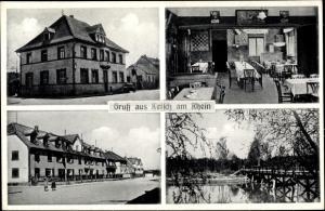 Ak Ketsch am Rhein, Gasthaus zur Kurpfalz, Inh. Fritz Witzler