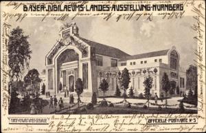 Ak Nürnberg, Bayer Jubilaeums Landes Ausstellung
