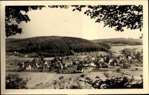 Ak Oberlahr im Westerwald Rheinland Pfalz, Panorama vom Ort