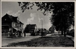 Ak Berlin Marzahn Kaulsdorf, Chemnitzerstraße, Straßenbahn, Wohnhäuser