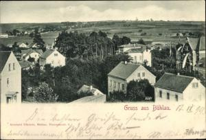 Ak Bühlau Dresden Sachsen, Blick auf den Ort