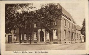 Ak Grieth Kalkar am Niederrhein, Marienhospital