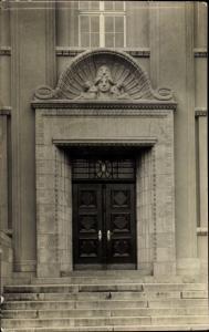 Foto Ak Gebäudeportal, Eingang