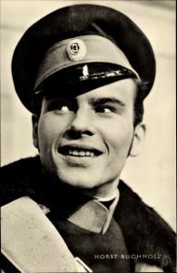 Ak Schauspieler Horst Buchholz, Portrait in Uniform, Auferstehung