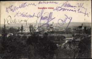 Ak Szentendre Pest Ungarn, Panorama