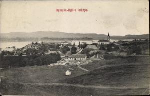 Ak Nyergesújfalu Ungarn, Panorama
