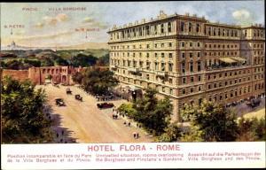 Ak Roma Rom Lazio, Hotel Flora