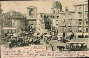 Ak Napoli Neapel Campania, Porta Capuana
