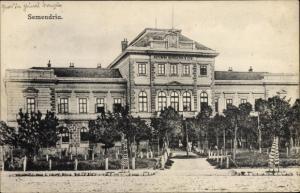 Ak Smederevo Semendria Serbien, Rathaus