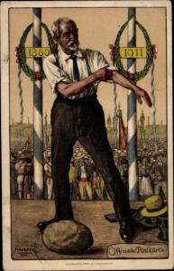 Künstler Ak Herzog, Winterthur Kt Zürich Schweiz, Zürcher Kantonal Turnverein, Turnfest 1911