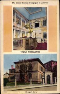 Judaika Ak Newport Rhode Island USA, Touro Synagogue