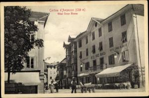 Ak Cortina d'Ampezzo Veneto, Hotel Croce Bianca