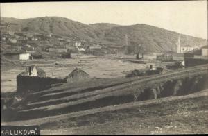 Ak Kalukova Monte Negro, Panorama vom Ort, Ruinen