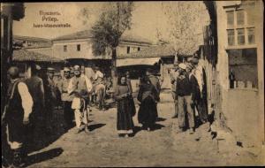 Ak Prilep Mazedonien, Iwan Wasowstraße