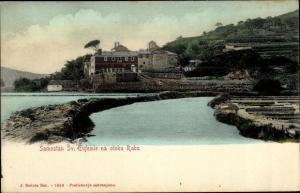 Ak Rab Kroatien, Samostan Sv. Eufemie