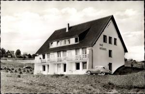Ak Hohegeiß Braunlage im Oberharz, Haus Herzberg, Außenansicht