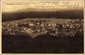 Ak Hahnenklee Bockswiese Goslar, Totalansicht vom Ort
