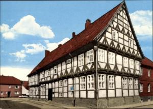 Ak Hitzacker an der Elbe, Zollhaus, Außenansicht