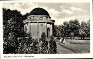 Ak Altenbruch Cuxhaven in Niedersachsen, Blick auf das Mausoleum