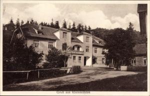 Ak Klein Mühlen Rensefeld Bad Schwartau , Blick auf ein Wohnhaus, Gehöft