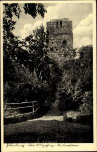 Ak Eilenburg an der Mulde Sachsen, 1000j. Sorbenturm