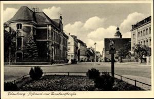 Ak Eilenburg an der Mulde Sachsen, Postamt, Rinckartstraße