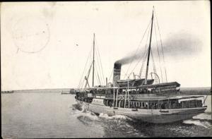 Ak Szczecin Stettin Pommern, S.S. Heringsdorf, Dampfer