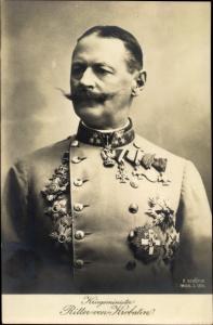 Ak Alexander Ritter von Krobatin, Kriegsminister, Uniform, Orden