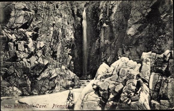 Ak Kanalinsel Jersey, Plemont, Waterfall Cave 0
