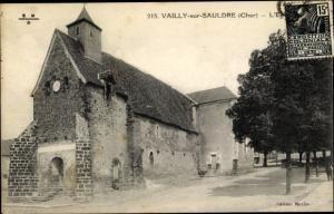 Ak Vailly sur Sauldre Cher, L'Eglise