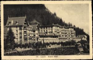 Ak Leysin Kanton Waadt, Grand Hotel