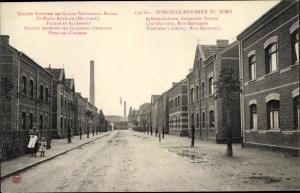 Ak Porz Köln Nordrhein Westfalen, Spiegelglaswerke, Arbeiterkolonie, Germania Straße