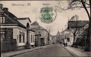 Ak Wittenburg Mecklenburg Vorpommern, Steintor