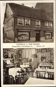 Ak Wipperfürth im Oberbergischen Kreis, Konditorei Schulte, Untere Straße 19, Innenansicht, Klavier