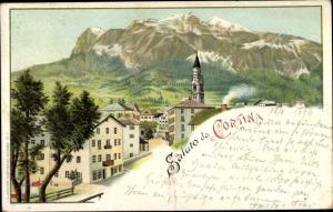 Litho Cortina d'Ampezzo Veneto, Panorama, Kirche