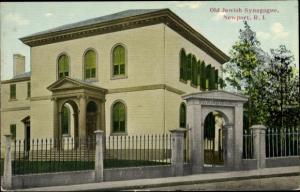 Judaika Ak Newport Rhode Island USA, Old Jewish Synagogue
