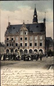 Ak Bocholt im Münsterland, Rathaus