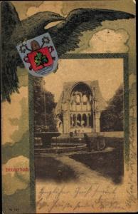 Wappen Ak Königswinter am Rhein, Kloster Heisterbach