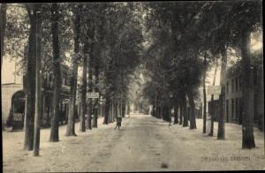 Ak Lunteren Ede Gelderland, Dorpsstraat
