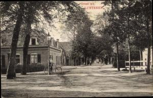Ak Lunteren Ede Gelderland, Straßenpartie