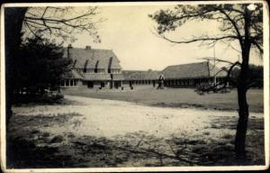 Foto Ak Lunteren Ede Gelderland, Gebäude