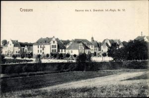 Ak Krosno Odrzańskie Crossen Oder Ostbrandenburg, Kaserne 6. Brandenb. Inf. Regt. Nr. 52
