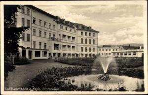 Ak Wleń Lähn am Bober Schlesien, Sanatorium