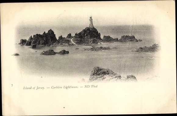 Ak Kanalinsel Jersey, Corbiere Lighthouse 0