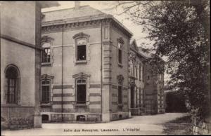 Ak Lausanne Kanton Waadt Schweiz, Asile des Aveugles, l'Hôpital
