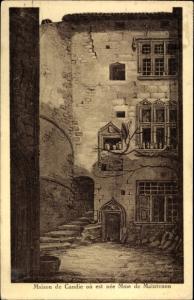 Ak Saint Liguaire Niort Deux Sèvres, Maison de Candie ou est nee Mme Maintenon